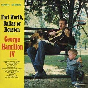 Forth Worth, Dallas or Houston