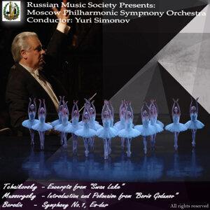 Tchaikovsky - Swan Lake; Mussorgsky - Boris Godunov; Borodin - Symphony No. 1 in E Flat