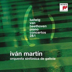 Beethoven: Piano Concertos Nos. 2 & 1