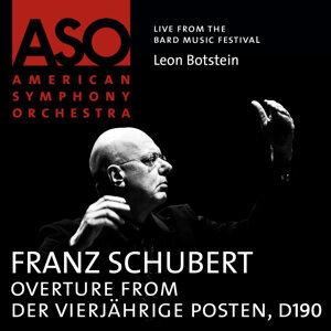 Schubert: Overture from Der vierjährige Posten, D. 190