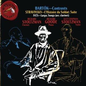 Bartok: Contrasts - Stravinsky: L'Histoire du Soldat - Suite; Ives: Largo; Songs