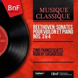 Beethoven: Sonates pour violon et piano Nos. 3 & 4 - Mono Version