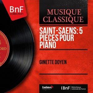 Saint-Saëns: 5 Pièces pour piano - Mono Version