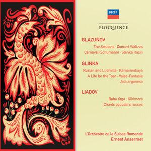 Glazunov: The Seasons; Concert Waltzes; Schumann: Carnaval