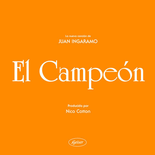 El Campeón - Single