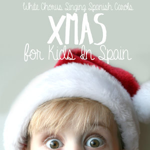 Xmas For Kids In Spain. White Chorus Singing Spanish Carols