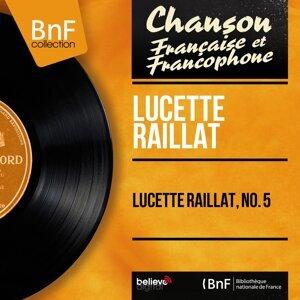 Lucette Raillat, no. 5 - Mono Version