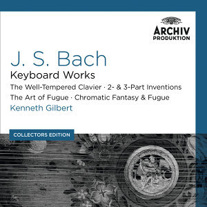 Bach, J.S.: Keyboard Works; The Well-Tempered Clavier; 2- & 3- Part Inventions; The Art Of Fugue; Chromatic Fantasy & Fugue - Collectors Edition