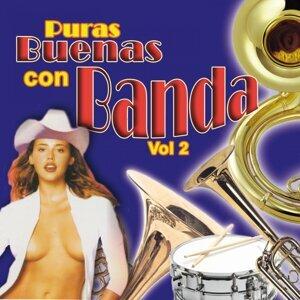 Puras Buenas Con Banda, Vol. 2