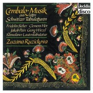 Cembalo, Musik aus alten Schweizer Tabulaturen