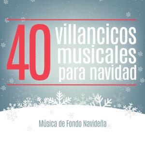 40 Villancicos Musicales para Navidad. Música de Fondo Navideña