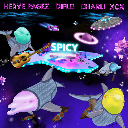 Spicy - with Diplo & Charli XCX