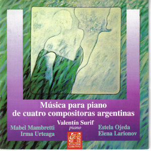 Música para Piano de Cuatro Compositoras Argentinas