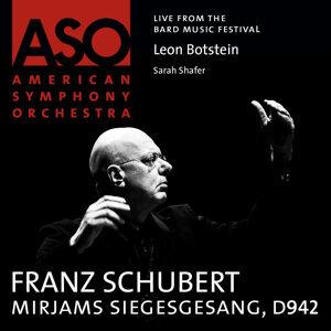 Schubert: Mirjams Siegesgesang, D. 942