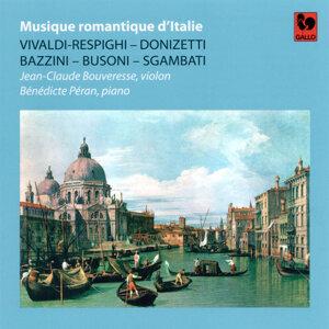Vivaldi / Respighi - Donizetti - Bazzini - Busoni - Sgambati: Musique romantique d'Italie