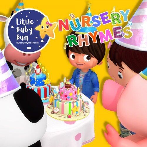 Awesome Little Baby Bum Nursery Rhyme Friends Birthday Cake Song Kkbox Funny Birthday Cards Online Alyptdamsfinfo