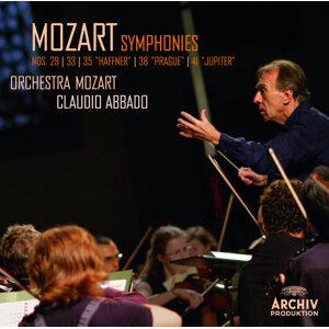 """Mozart: Symphonies Nos. 29, 33, 35 """"Haffner"""", 38 """"Prague"""", 41 """"Jupiter"""" - Live"""