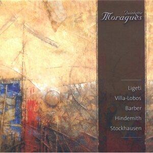 Quintette Moraguès: Ligeti, Villa-Lobos, Barber, Hindemith & Stockhausen