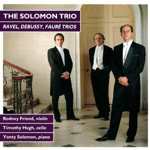 Ravel, Debussy, Faure: Trios
