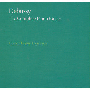 Debussy: The Complete Piano Music - 4 CDs
