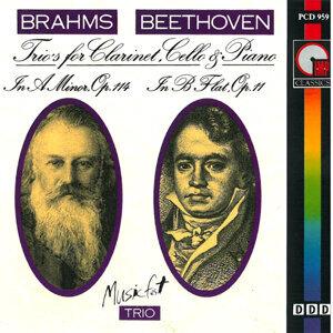 Brahms: Trio in Aminor, Op. 114 - Beethoven: Trio in B-Flat Major, Op. 11