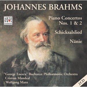 Johannes Brahms: Piano Concertos 1 + 2