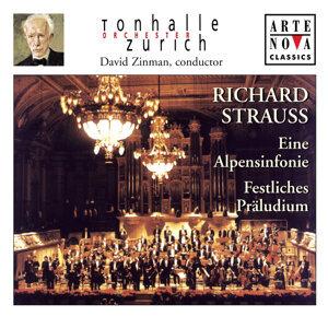 Richard Strauss: Eine Alpensinfonie; Festliches Präludium