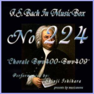 Bach in Musical Box 224 / Chorale, BWV 400 - BWV 409