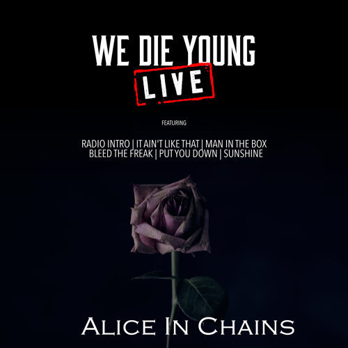 We Die Young - Live