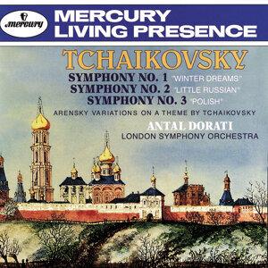 Tchaikovsky: Symphonies Nos.1-3/Arensky: Variations on a Theme by Tchaikovsky - 2 CDs