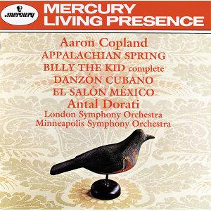 Copland: Appalachian Spring; Billy the Kid; El Salon Mexico; Danzon Cubano