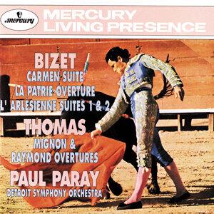 Bizet: Carmen Suite/La Patrie Overture/L'arlésienne Suite Thomas: Mignon & Raymond Overtures