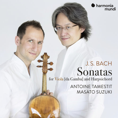 J.S. Bach: 3 Sonatas for viola da gamba and harpsichord, BWV 1027-1029