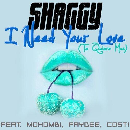 I Need Your Love (Te Quiero Mas)