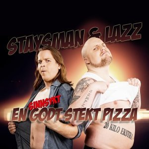 En sinnsykt godt stekt pizza