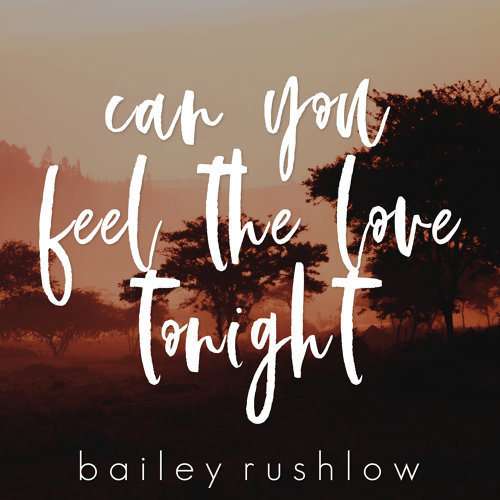 Can You Feel the Love Tonight - Acoustic