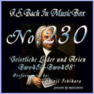 バッハ・イン・オルゴール230 /宗教的歌曲とアリア BWV459からBWV468