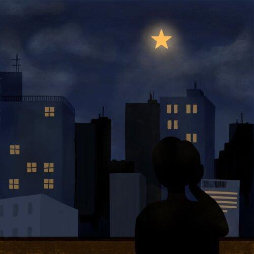 The star 별 하나