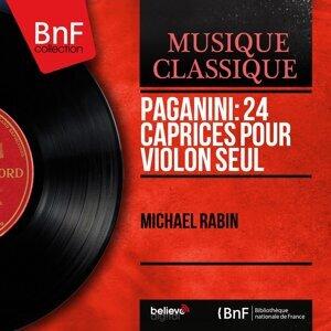 Paganini: 24 Caprices pour violon seul - Mono Version