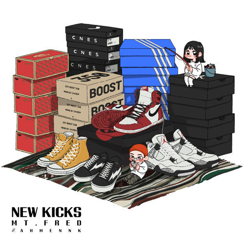 New kicks 새 신발
