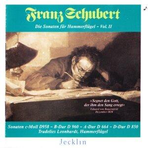 Franz Schubert: Die Sonaten für Hammerflügel, Vol. II
