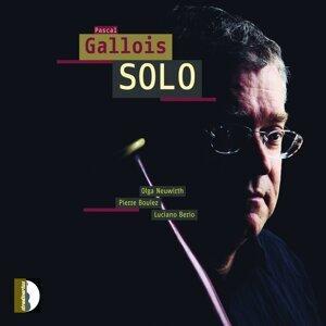 Olga Neuwirth, Pierre Boulez & Luciano Berio: Pascal Gallois Solo