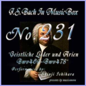 バッハ・イン・オルゴール231 /宗教的歌曲とアリア BWV469からBWV478