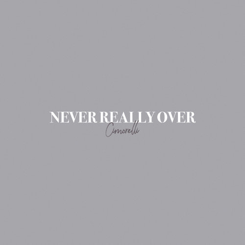 Never Really Over - Acoustic
