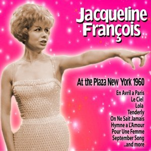Jacqueline François At the Plaza: New York, 1960