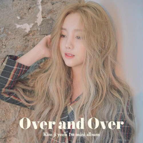 Kim ji yeon 1st Mini Album 'OVER AND OVER'