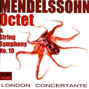Mendelssohn: Octet & String Symphony No. 10