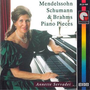Mendelssohn, Schumann & Brahms Piano Pieces