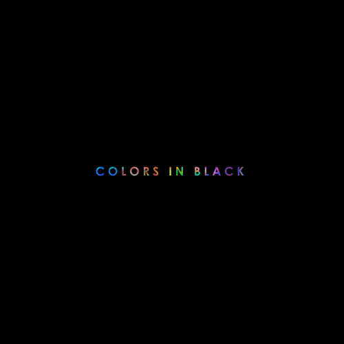 COLORS IN BLACK