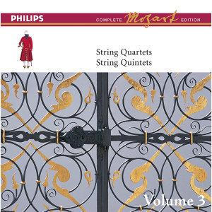Mozart: The String Quartets, Vol.3 - Complete Mozart Edition